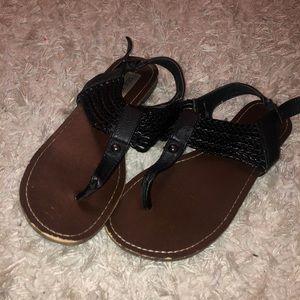 Steve Madden black sandal